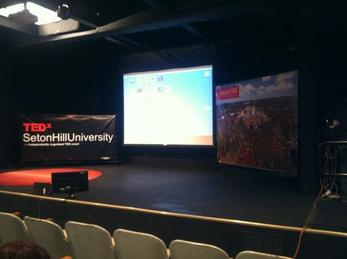 TEDx Seton Hill Stage