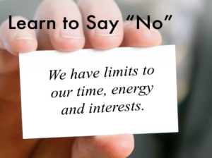say-no limited time