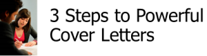 3 Steps Cover Letters LOGO