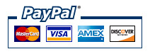 PayPal + All Major Credit Cards - Small