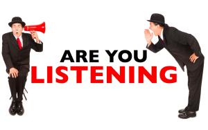 Listening - 2 Men ask question